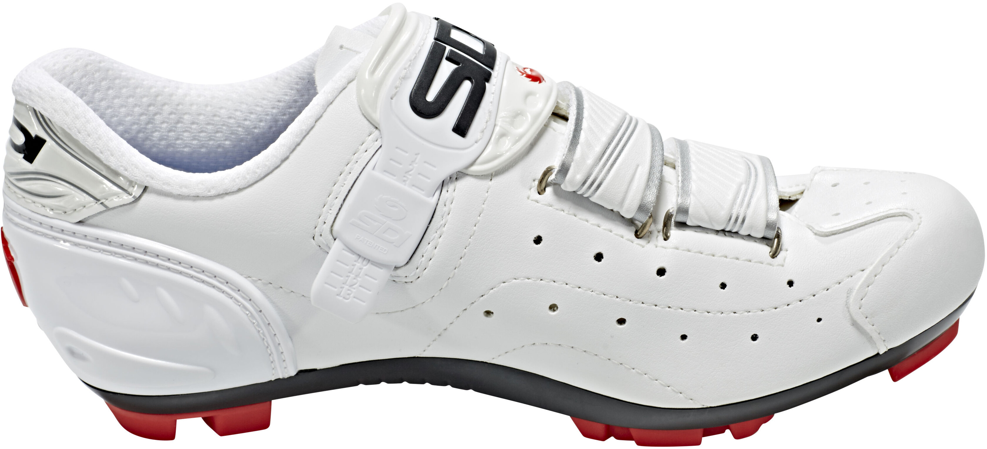 White Mtb Clipless Shoes Sidi